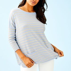 Lilly Pulitzer Cobo striped Boatneck Sweater